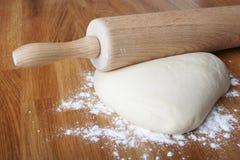 Het deeg van het gebakje stock fotografie