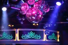 Het deel van binnenland van de nachtclubbasis Stock Foto