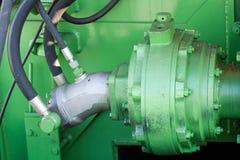 Het deel van de machine Stock Foto