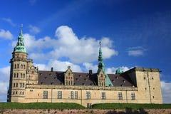 Het Deense kasteel Kronborg in Helsingor. Stock Foto's
