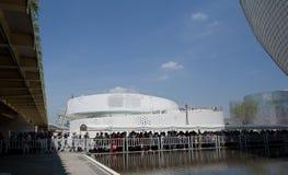 Het Deense paviljoen: 2010 van de Wereldexpo van Shanghai de nationale paviljoenen Stock Afbeeldingen
