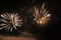 Het definitieve vuurwerk van ` de Liederen van Bezhin-Weide Stock Foto