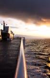Het dek van de veerboot royalty-vrije stock afbeeldingen