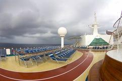 Het Dek van het schip Stock Foto's