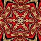 Het dekbed van het satijn Stock Fotografie