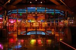 Het dekbinnenland van het cruiseschip Stock Foto's