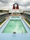 Het dekcruise van de pool Royalty-vrije Stock Foto's