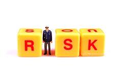 Het dekken van risico Royalty-vrije Stock Fotografie