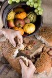 Het delen van brood Royalty-vrije Stock Fotografie