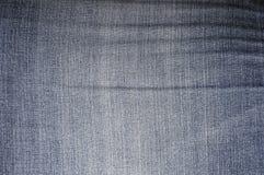 Het denim van de textuur -textuur-grunge Stock Foto