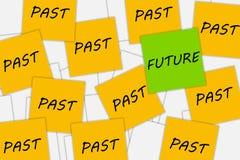 Het denken over de toekomst Stock Fotografie