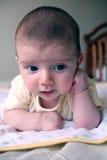 Het denken van de baby Stock Foto's
