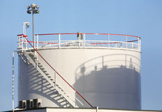 Het Depot van de brandstof Royalty-vrije Stock Afbeelding