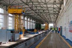 Het Depot van de spoorweg Royalty-vrije Stock Afbeelding