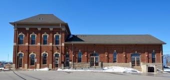 Het Depot van de sycomoorspoorweg Royalty-vrije Stock Fotografie