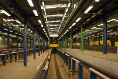 Het depot van de tram royalty-vrije stock foto