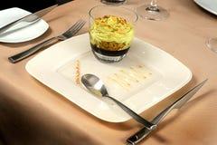 Het dessert diende vers Royalty-vrije Stock Foto