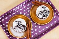 Het dessert scheve omhooggaand van de luxe Royalty-vrije Stock Foto