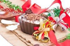 Het dessert van chocoladeamerikaanse elanden. Stock Foto's