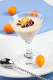 Het Dessert van Cotta van Panna Royalty-vrije Stock Afbeeldingen