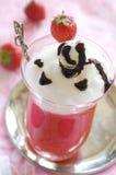 Het dessert van de aardbei Royalty-vrije Stock Foto