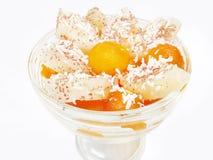 Het dessert van de ananas Royalty-vrije Stock Foto