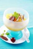 Het dessert van de ananas Royalty-vrije Stock Foto's