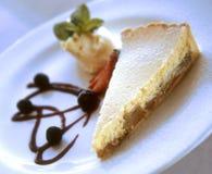 Het dessert van de appeltaart royalty-vrije stock foto's