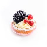 Het dessert van de bes Royalty-vrije Stock Afbeelding