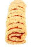Het dessert van de broodjescake Stock Foto