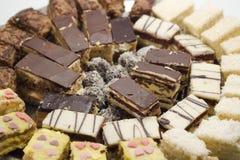 Het dessert van de cake Stock Fotografie