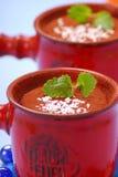 Het dessert van de chocolade Royalty-vrije Stock Foto
