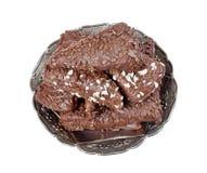 Het dessert van de chocolade Royalty-vrije Stock Afbeeldingen