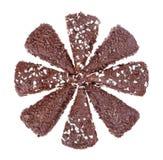 Het dessert van de chocolade Royalty-vrije Stock Afbeelding