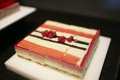 Het Dessert van de fruitroom Stock Afbeelding