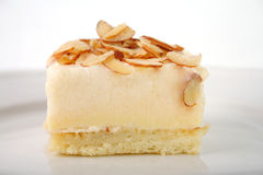 Het dessert van de mousse stock afbeelding