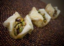 Het Dessert van de pistache Royalty-vrije Stock Foto