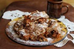 Het dessert van de pompoen Royalty-vrije Stock Fotografie