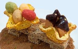 Het Dessert van de sesam royalty-vrije stock afbeeldingen