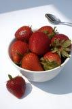 Het Dessert van de zomer royalty-vrije stock foto's