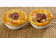 Het dessert van fig. stock fotografie