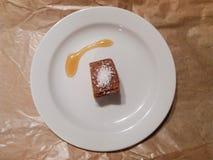 Het dessert van het datumdeeg Stock Fotografie