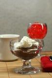 Het Dessert van het dieet Royalty-vrije Stock Fotografie