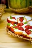 Het dessert van het fruit Royalty-vrije Stock Fotografie