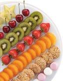 Het dessert van het fruit Stock Fotografie