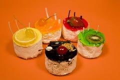 Het Dessert van het fruit Royalty-vrije Stock Afbeelding