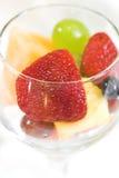 Het Dessert van het fruit royalty-vrije stock afbeeldingen