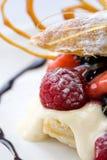 Het dessert van het gebakje Royalty-vrije Stock Foto's