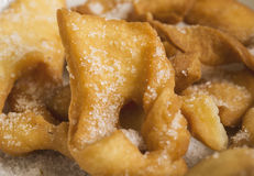 Het dessert van het het koekjesclose-up van engelenvleugels Stock Foto's