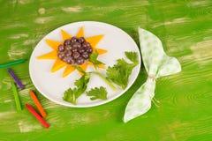 Het dessert van het partijfruit royalty-vrije stock foto's
